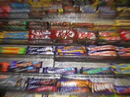 Should the government be dictating candy placement to control obesity?