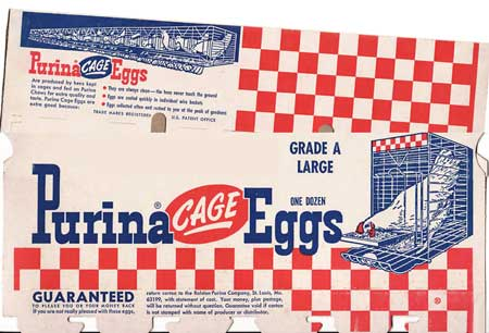Caged eggs were once a good thing