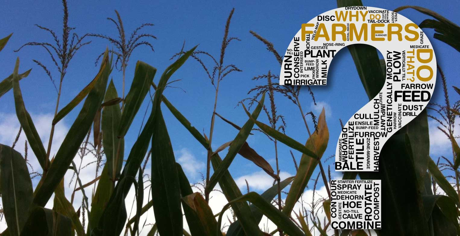 Why do farmers tax themselves?